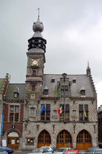 Town hall and belfry BINCHE picture