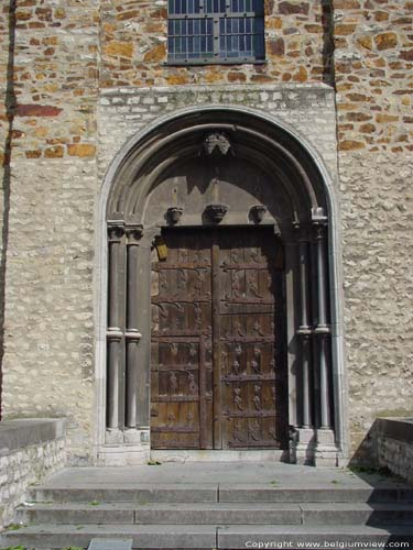 Saint Gertrude NIVELLES picture Main entrance