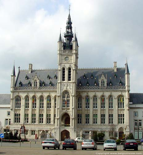 Town hall and belfry SAINT-NICOLAS picture e