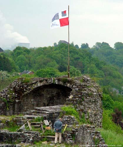 Feodaal kasteel Moha WANZE foto