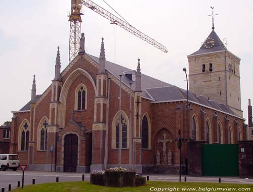 Our-Ladies Assomption church (in Munsterbilzen) BILZEN picture