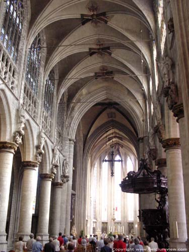 Our-Ladieschurch of the Sablon BRUSSELS-CITY / BRUSSELS picture