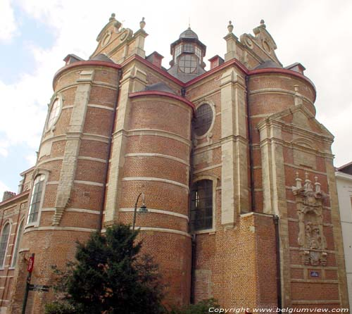 Rich Clarisses' church BRUSSELS-CITY / BRUSSELS picture
