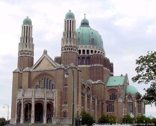 Basilique of the Holy Heart. KOEKELBERG picture