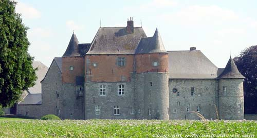 Leers-et-Fosteau castle (in Leers-and-Fosteau) THUIN picture
