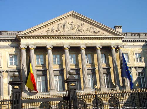 Federal Parliaments' building BRUSSELS-CITY / BRUSSELS picture
