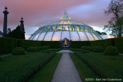Royal Greenhouses LAKEN / BRUSSEL picture