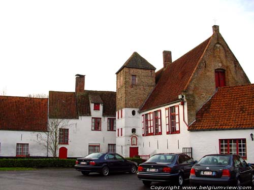 Abbey barn Ter Doest (in Lissewege) ZEEBRUGGE / BRUGGE picture