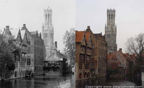 Belfry or bell-tower of Bruges BRUGES picture