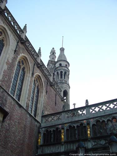 Saint-Basilius and Holy Blood chapel BRUGES picture