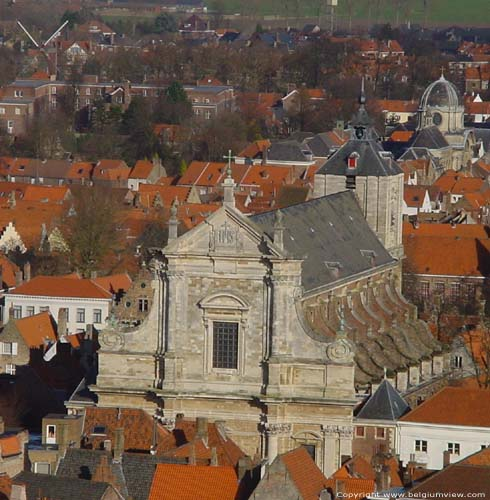 Saint Walburga  church BRUGES picture