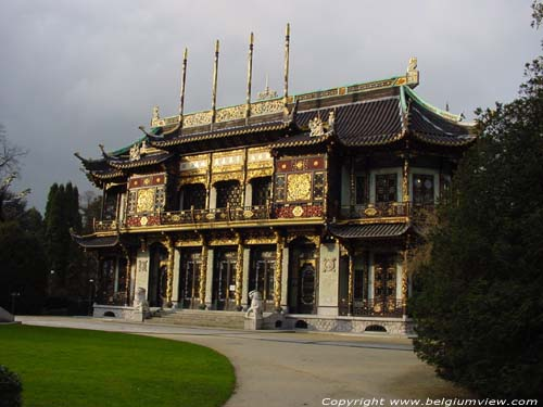Chinese Pavillon LAKEN / BRUSSEL picture