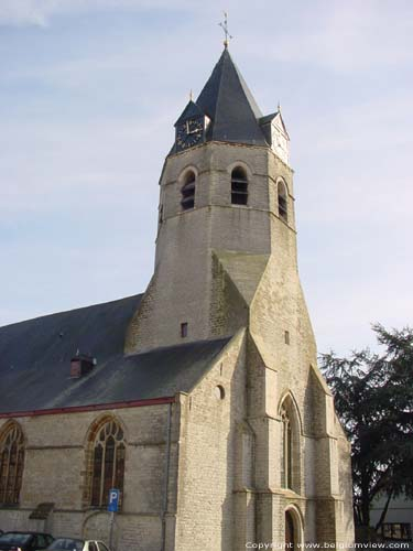 Saint-Andreas and Gislenuschurch BELSELE / SINT-NIKLAAS picture Tower