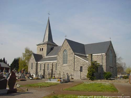 Saint-Maurice's church (in Bleret) WAREMME picture e