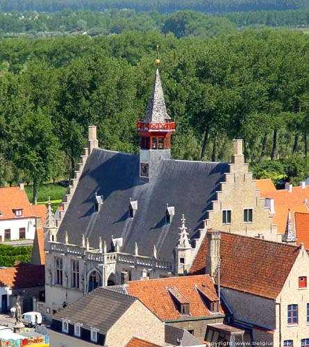 Town hall DAMME picture