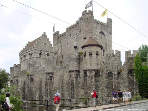 Counts castle GHENT picture