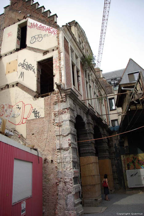 Ancien halle de poisson GAND photo