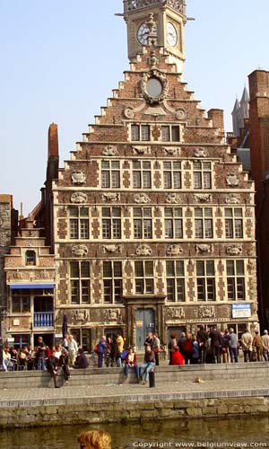 Corn Measurer's house GHENT picture