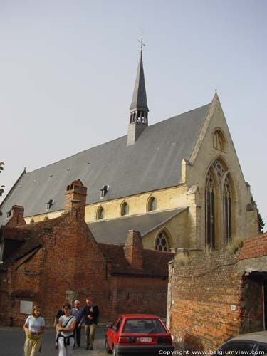 Beguinage church LEUVEN picture e