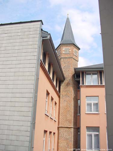 Rubbens Hotel with old Pagaddertower ANTWERP 1 / ANTWERP picture