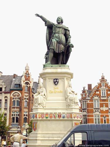 Statue of Jacob van Artevelde GHENT picture