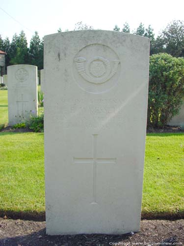 Cimiti�re militaire Brittanique NIEUWPOORT / NIEUPORT photo