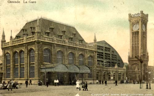 Old station OOSTENDE picture