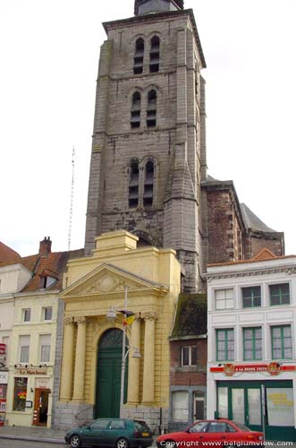 Sainte Margareth's church TOURNAI picture