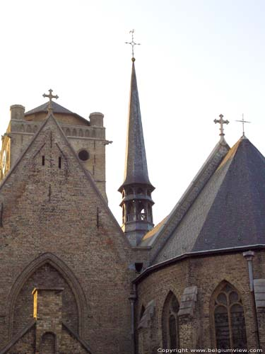 Saint-Nicolas church VEURNE picture