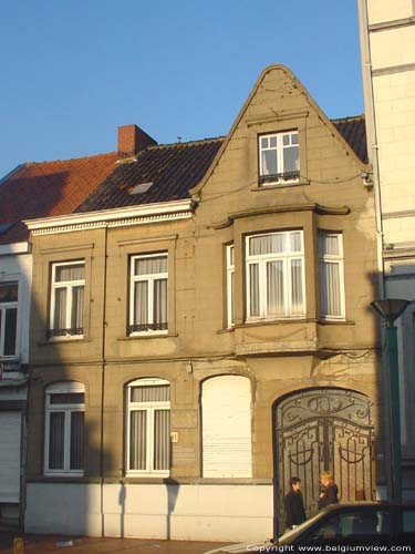 House where Albrecht Rodenbach died ROESELARE picture