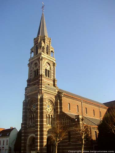 Saint Amand church ROESELARE picture