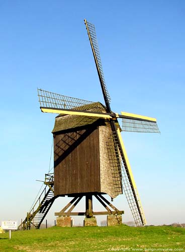 Fishers or Scheldewindeke Mill OOSTERZELE picture