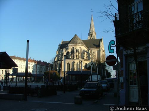 Saint Servais' church SCHAARBEEK picture