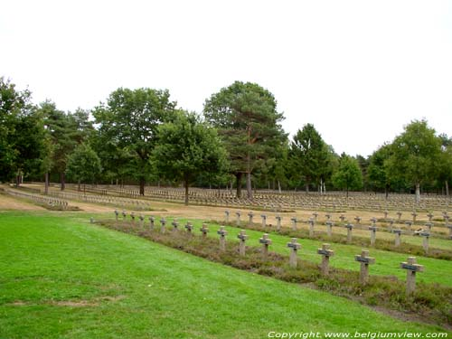 German Military Cemetery LOMMEL picture