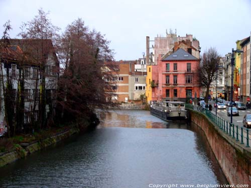 City view - river Scheldt GHENT picture
