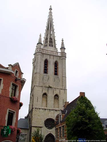 Saint gertrudis' church LEUVEN picture