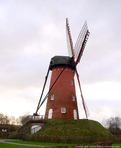 Old Windmill RANST picture
