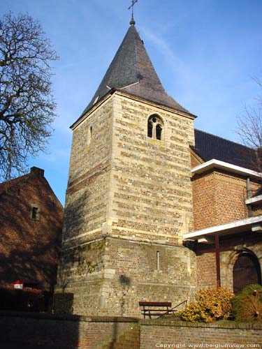 Saint-Gertrudis' church (in Piringen) TONGEREN picture Early gothic western tower