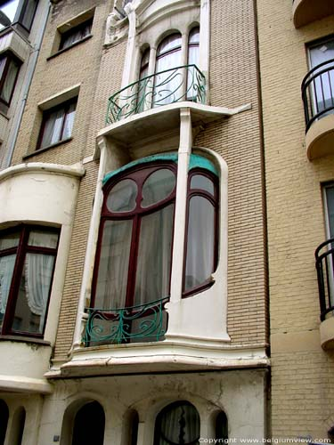 Art Nouveau house OOSTENDE picture