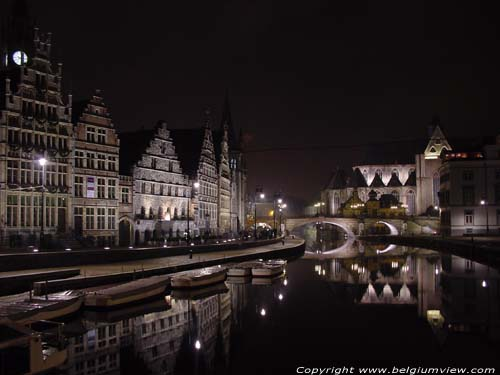 View from Saint-Michael's bridge GHENT picture