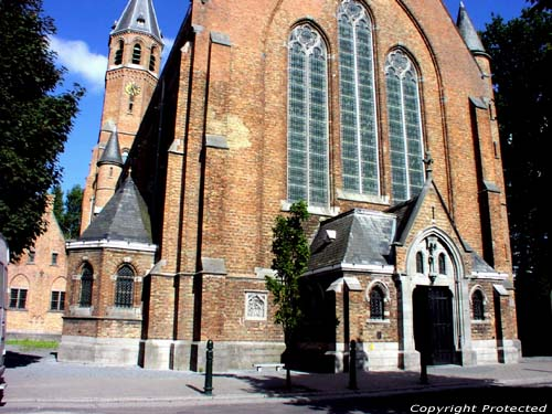 Saint-Anton from Padua's church (in Balgerhoeke) EEKLO picture Picture by Jean-Pierre Pottelancie (thanks!!)