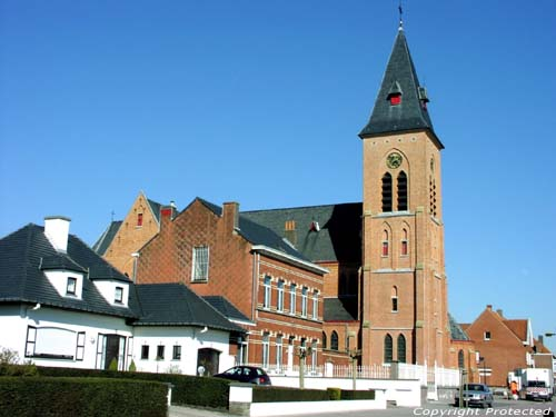 Holy Heart church (in Belzele) EVERGEM picture Picture by Jean-Pierre Pottelancie (thanks!)