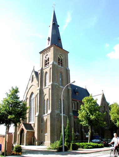 Eglise Saint-Joseph (� Donk) MALDEGEM photo Photo par Jean-Pierre Pottelancie (merci!)