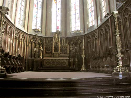 Saint-Vincientius' church EEKLO picture Picture by Jean-Pierre Pottelancie (thanks!)