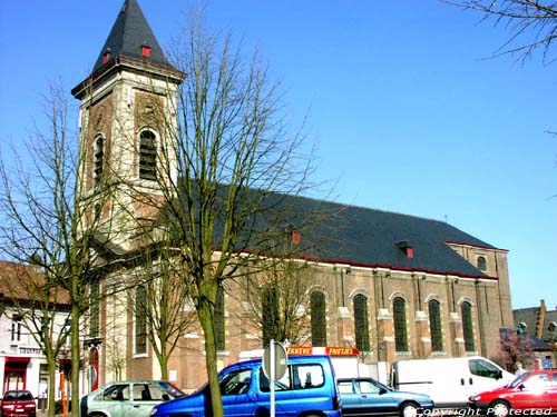 Saint-Christoph's church EVERGEM picture