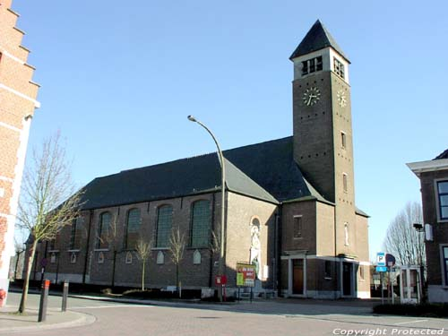 Our Ladies Birth church (in Kluizen) EVERGEM picture Picture by Jean-Pierre Pottelancie (thanks!)