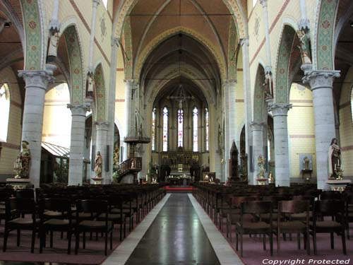 Saint Willibrordus' church KNESSELARE picture
