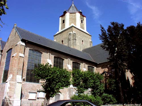 Saint-Barbara's church MALDEGEM picture