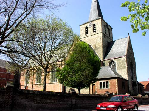 Saint-Maurits' church NEVELE picture