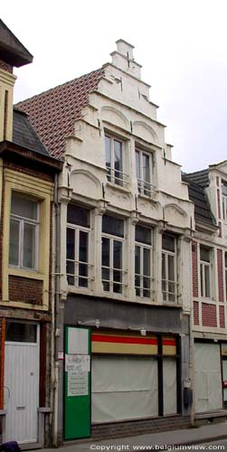 Old house with stepped gable GHENT picture